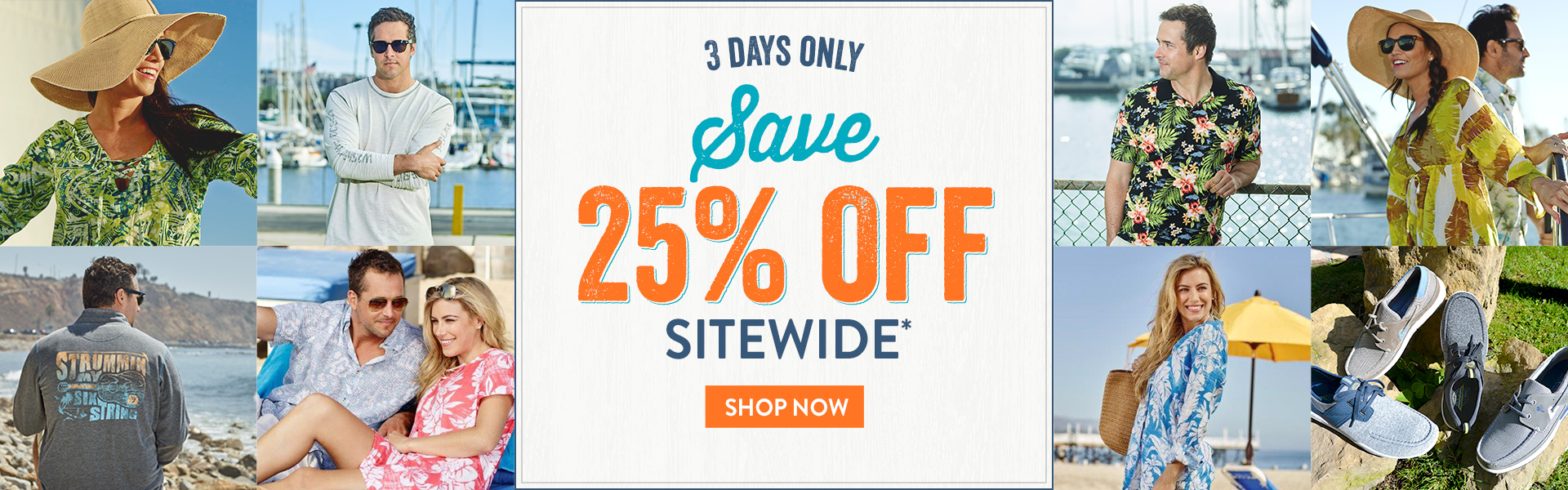 25% off Sitewide - 7/14-7/16/18