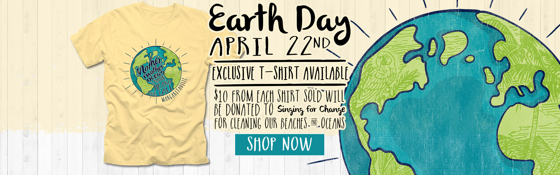 2020 Earth Day Charity Tee