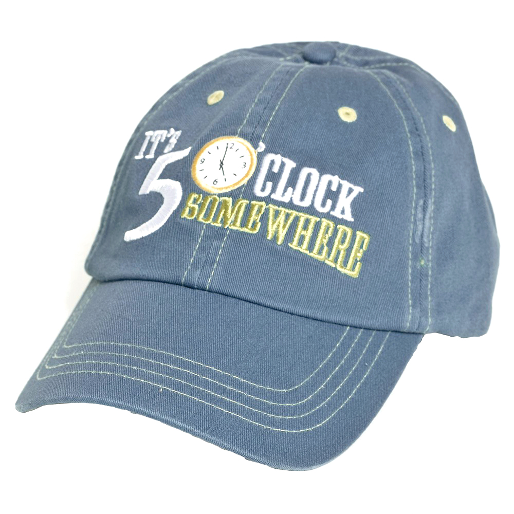 ee198faaccc77 FIVE O CLOCK LOGO HAT - Margaritaville Apparel Store
