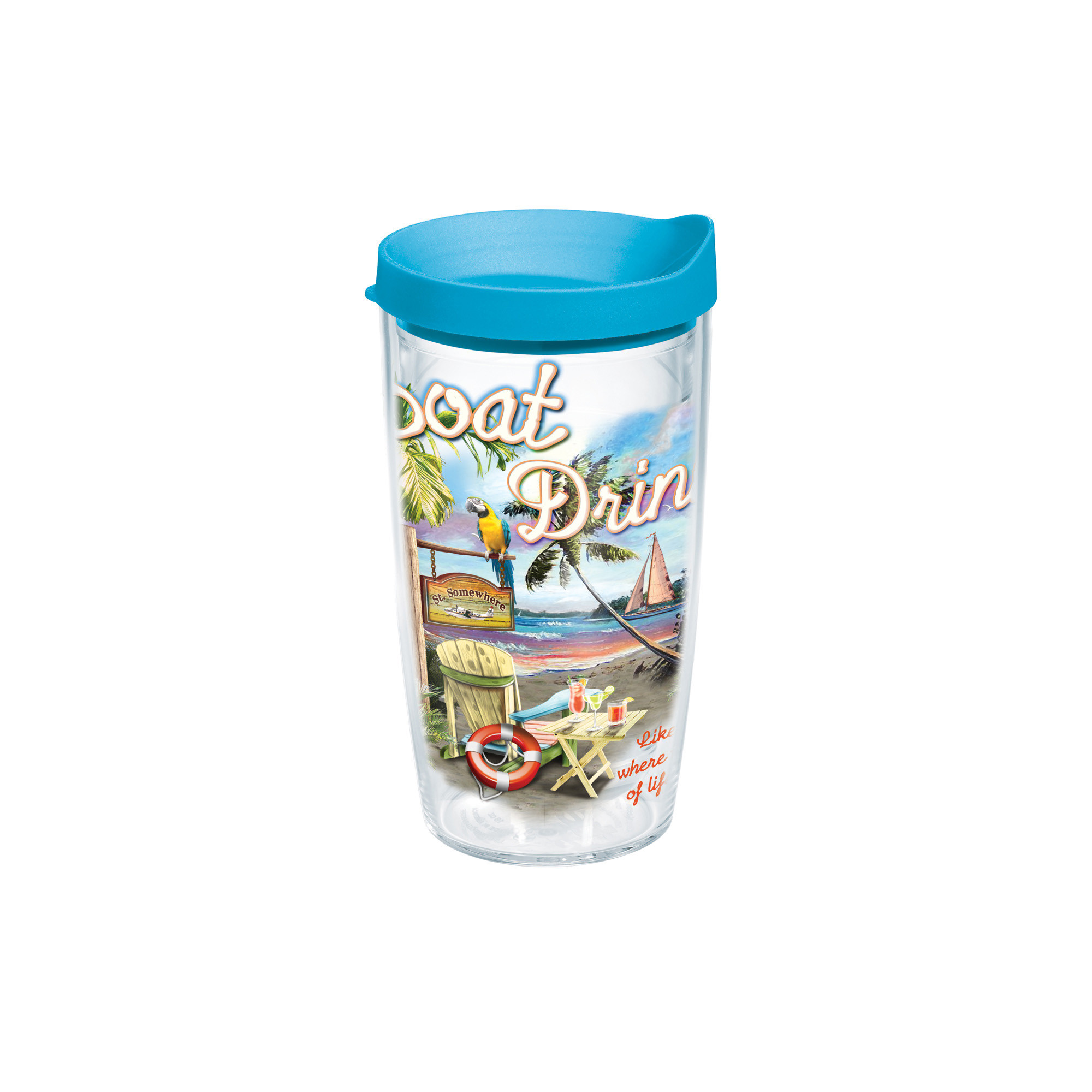 16OZ BOAT DRINKS TERVIS