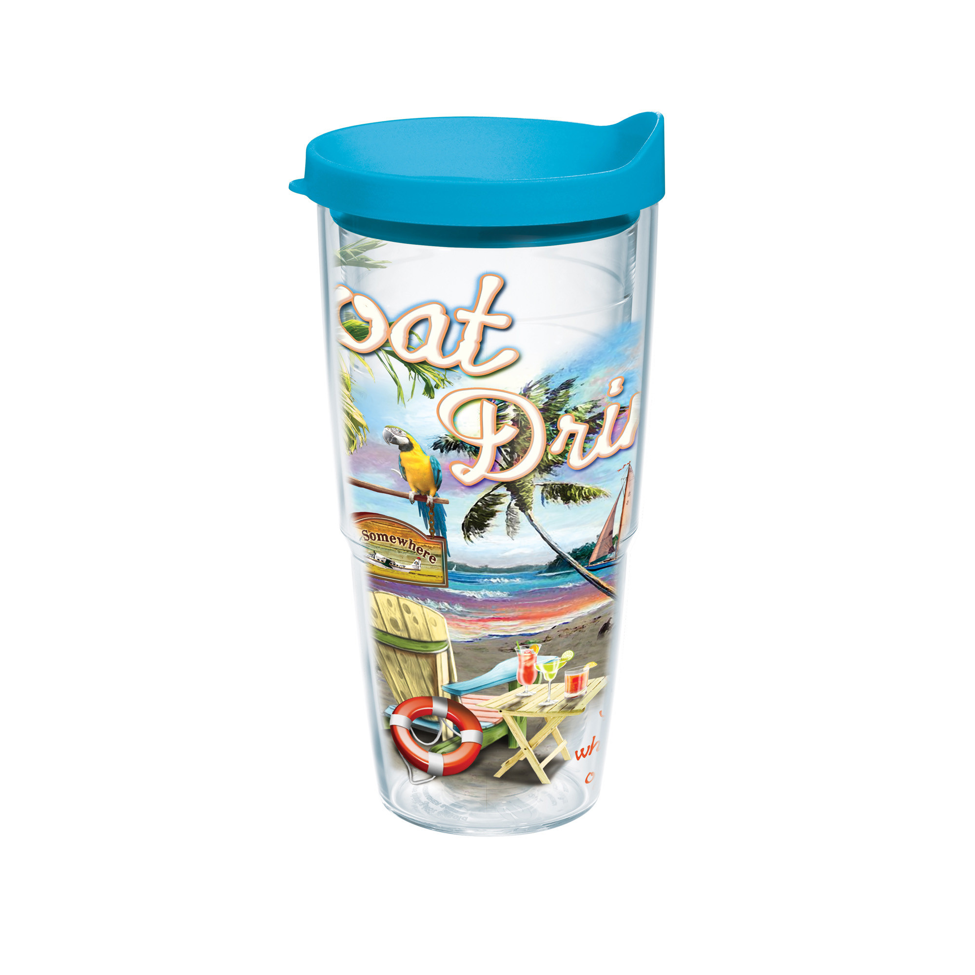 24OZ BOAT DRINKS TERVIS