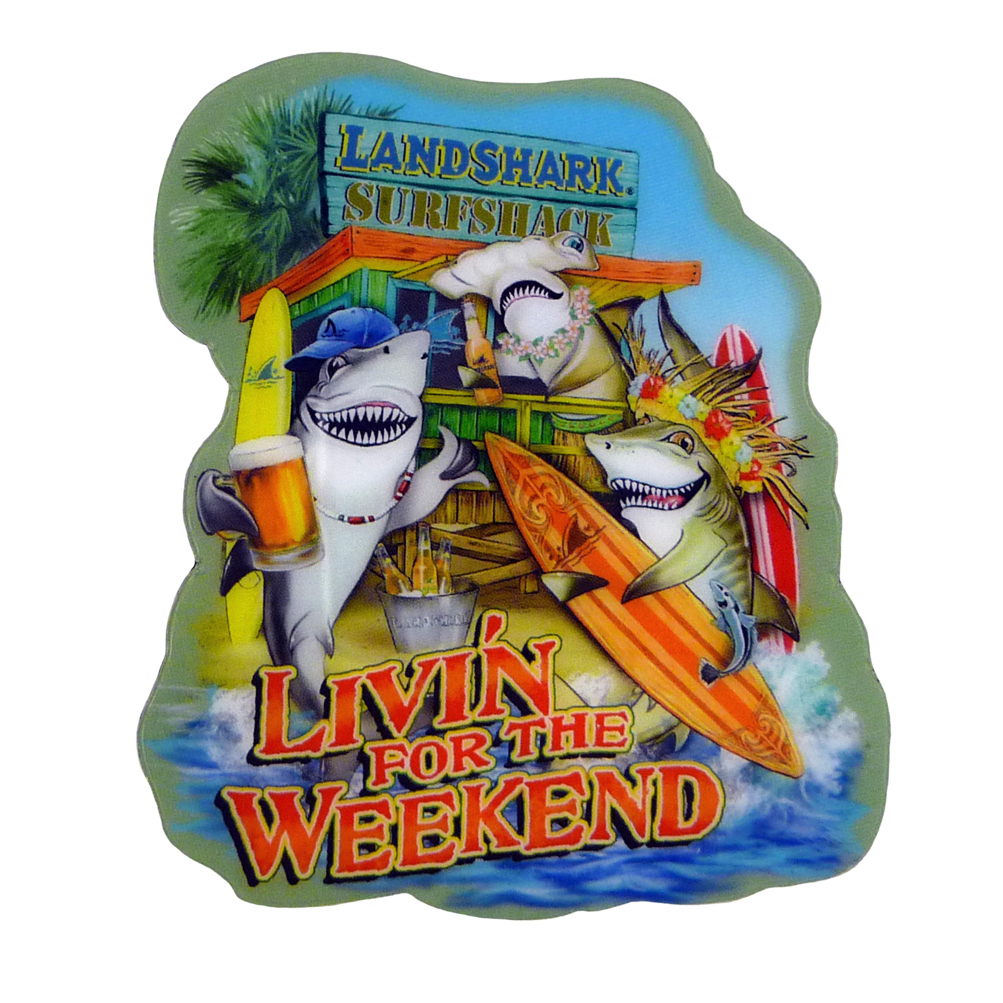 LIVIN FOR THE WEEKEND T-SHIRT