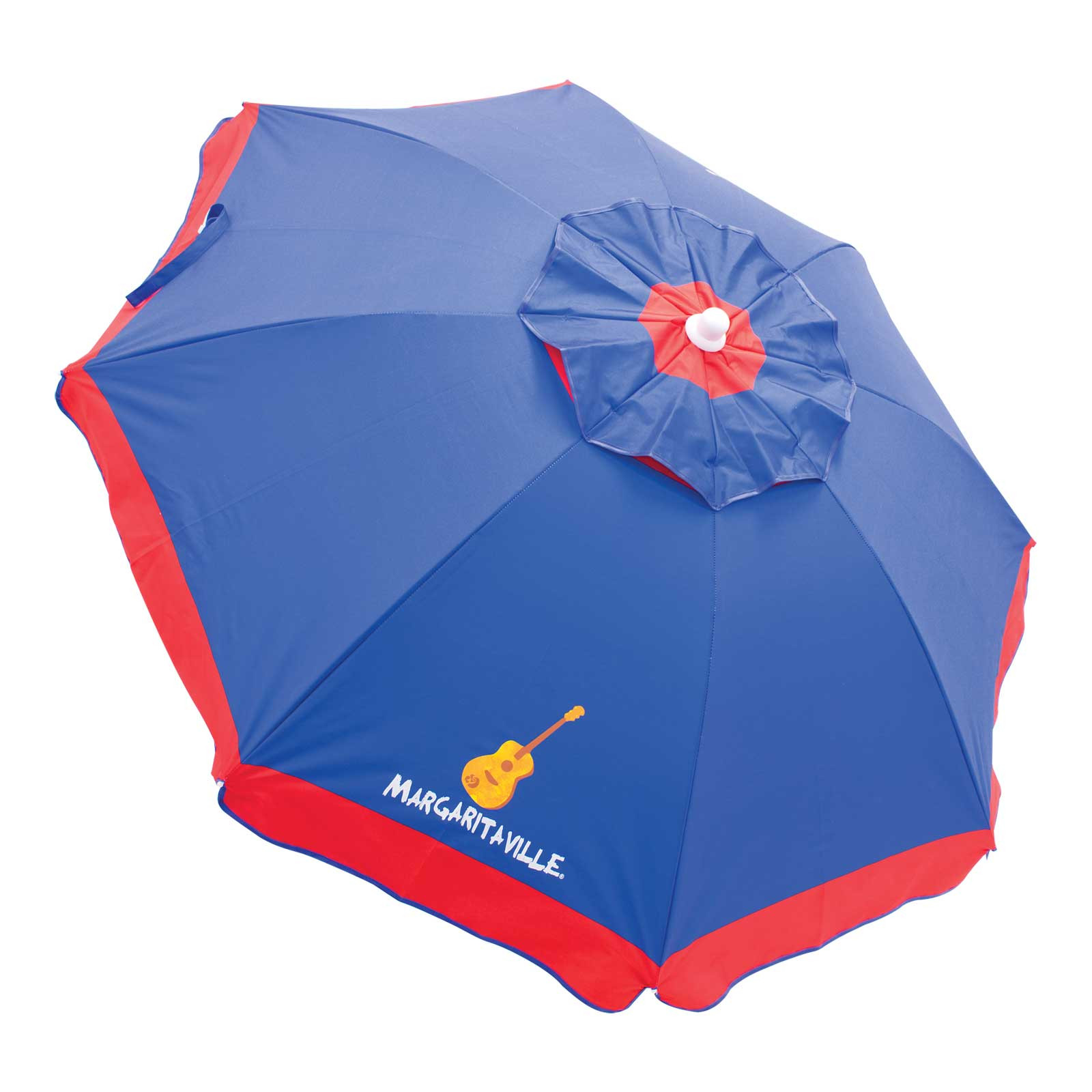 BLUE 6' BEACH UMBRELLA