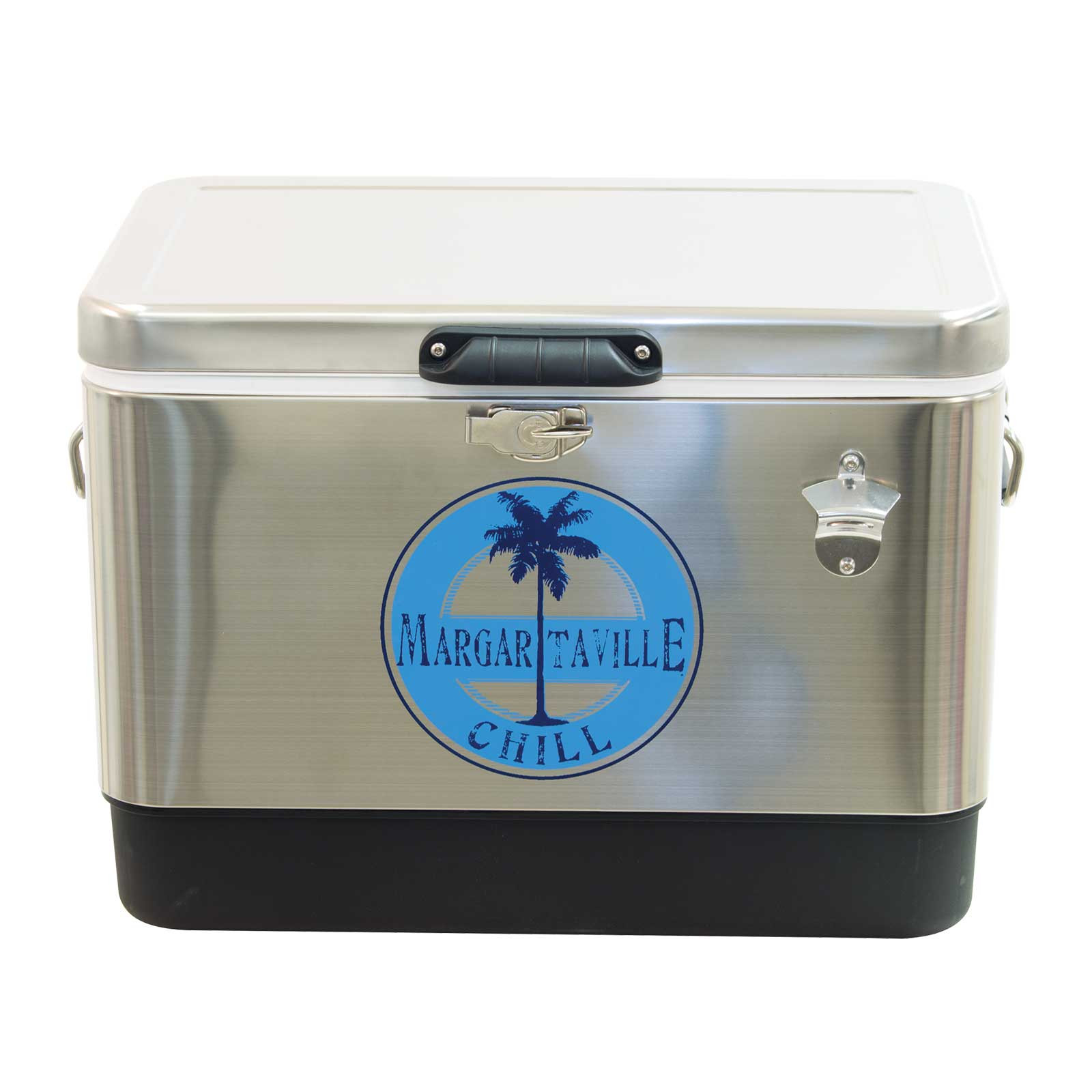 CHILL STAINLESS 54 QT COOLER
