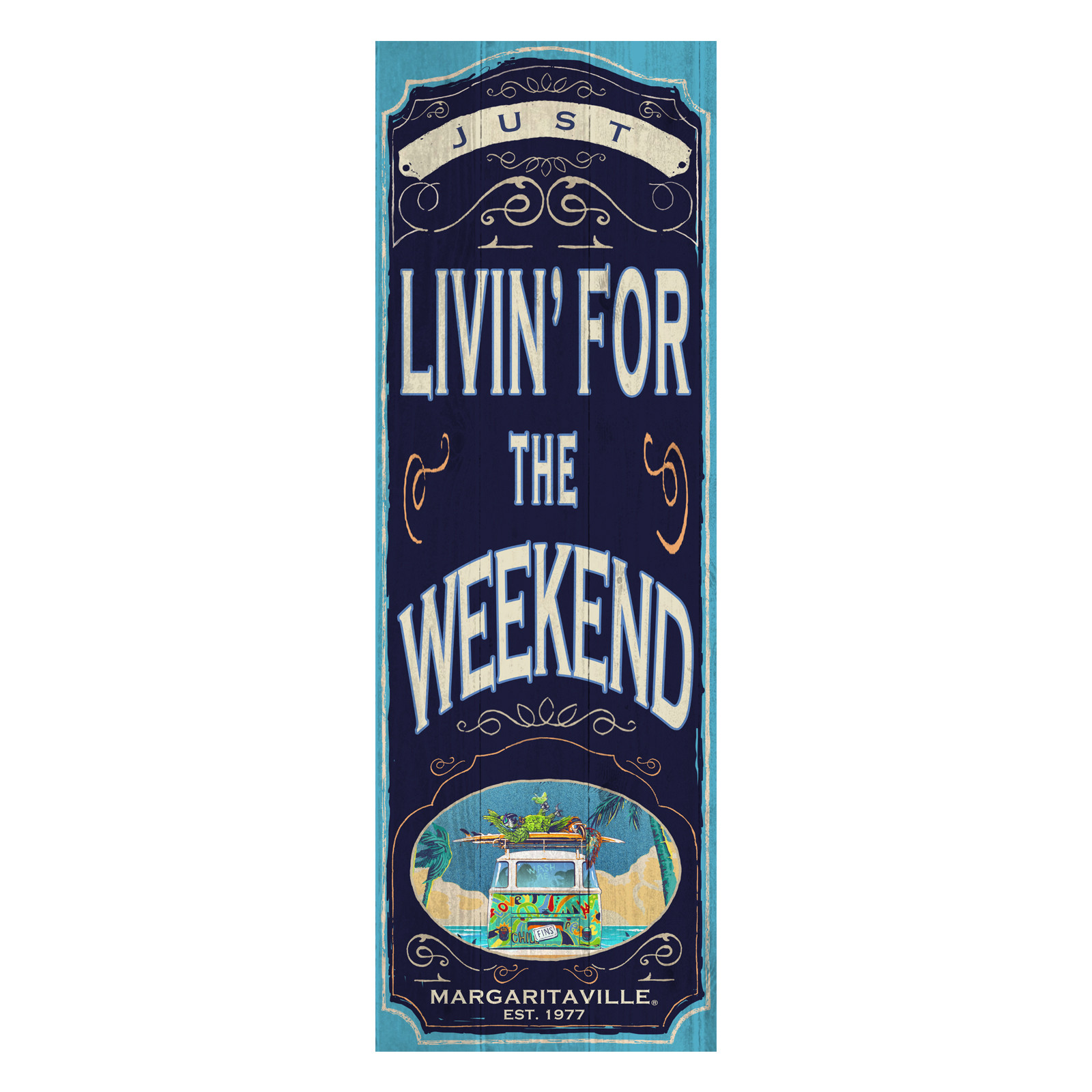 LIVIN FOR THE WEEKEND YOGA MAT