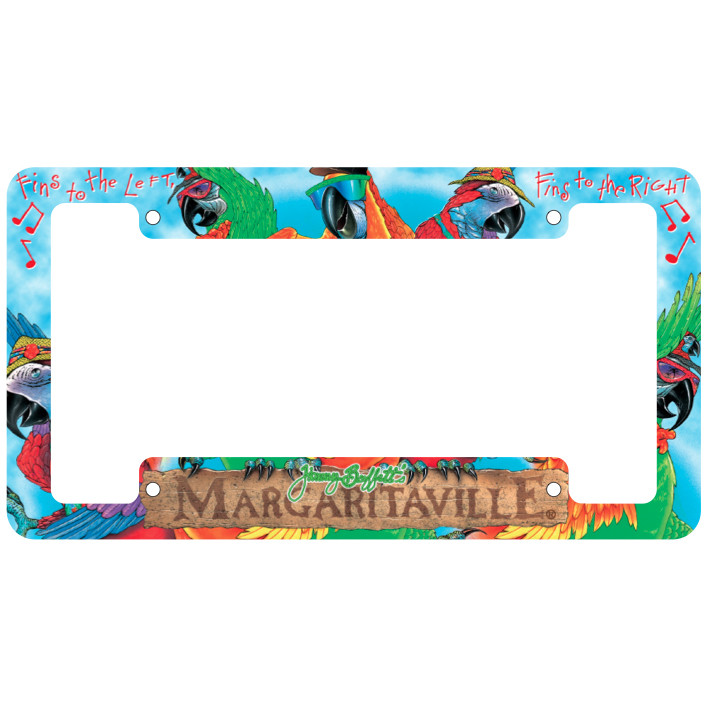 License Plate Border
