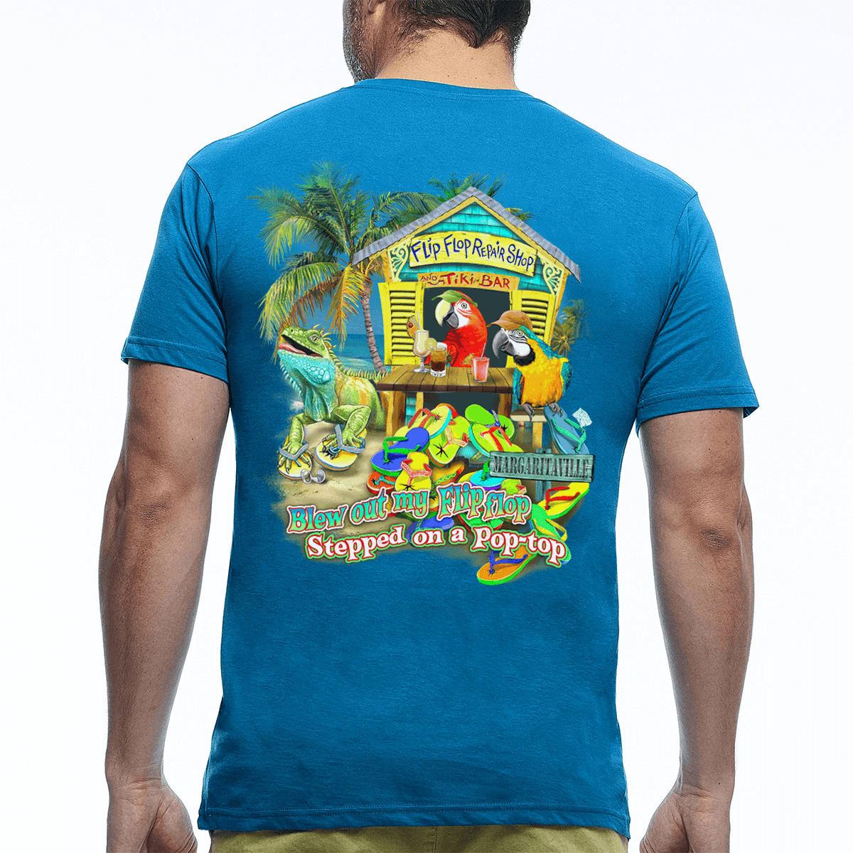 Flip Flop Repair T Shirt Margaritaville Apparel Store