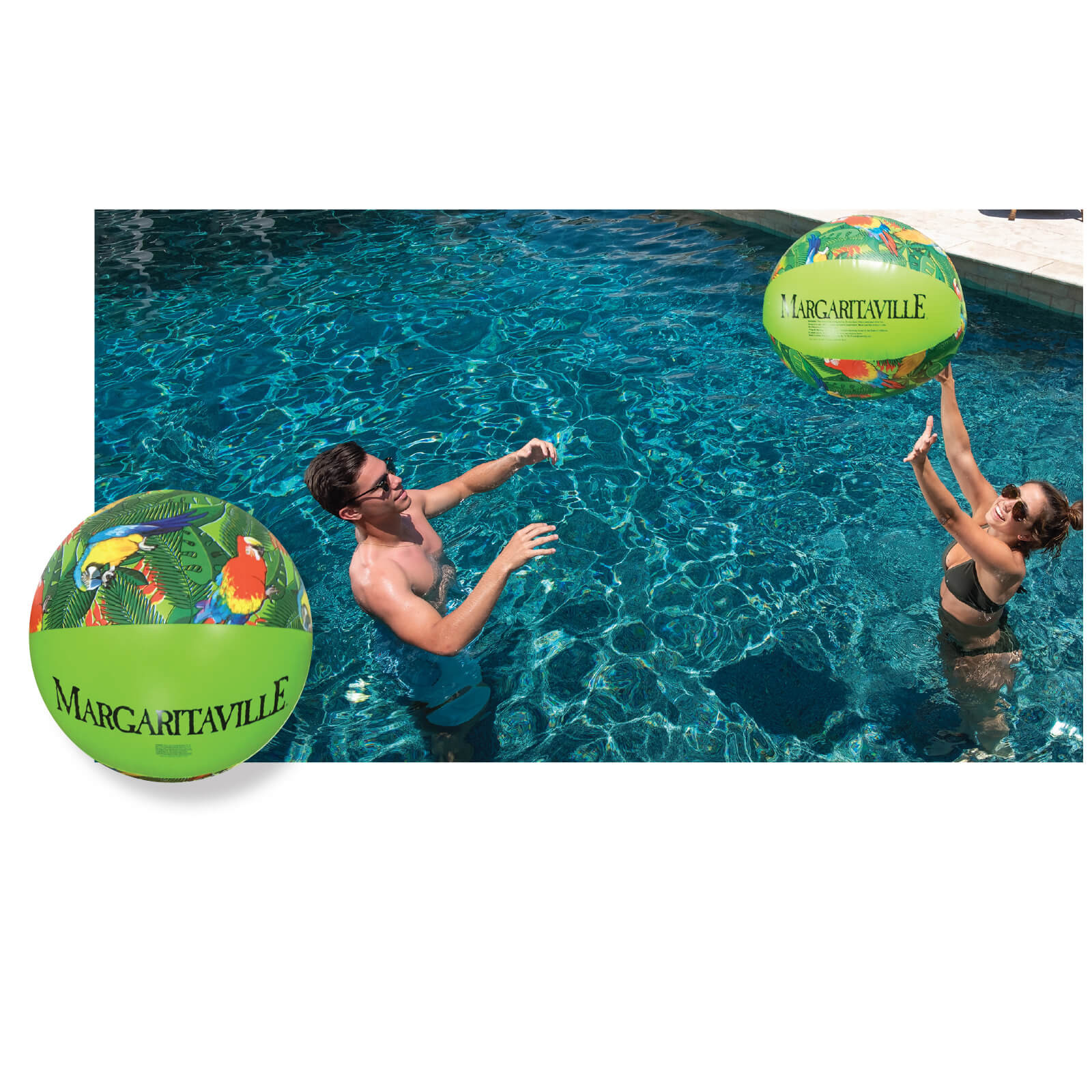 MARGARITAVILLE BEACH BALL 30""