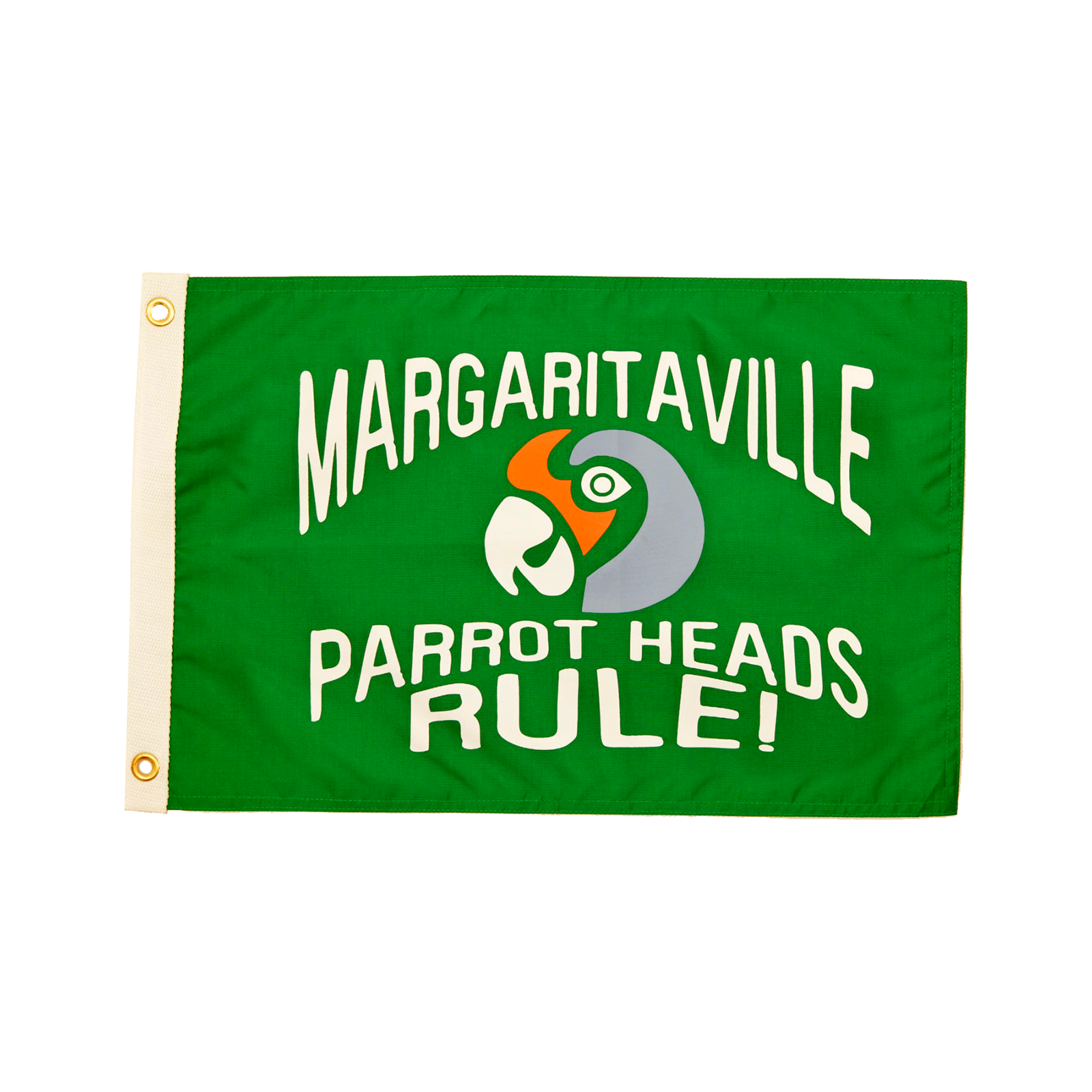 "PARROTHEADS BOAT FLAG-12""x18"""