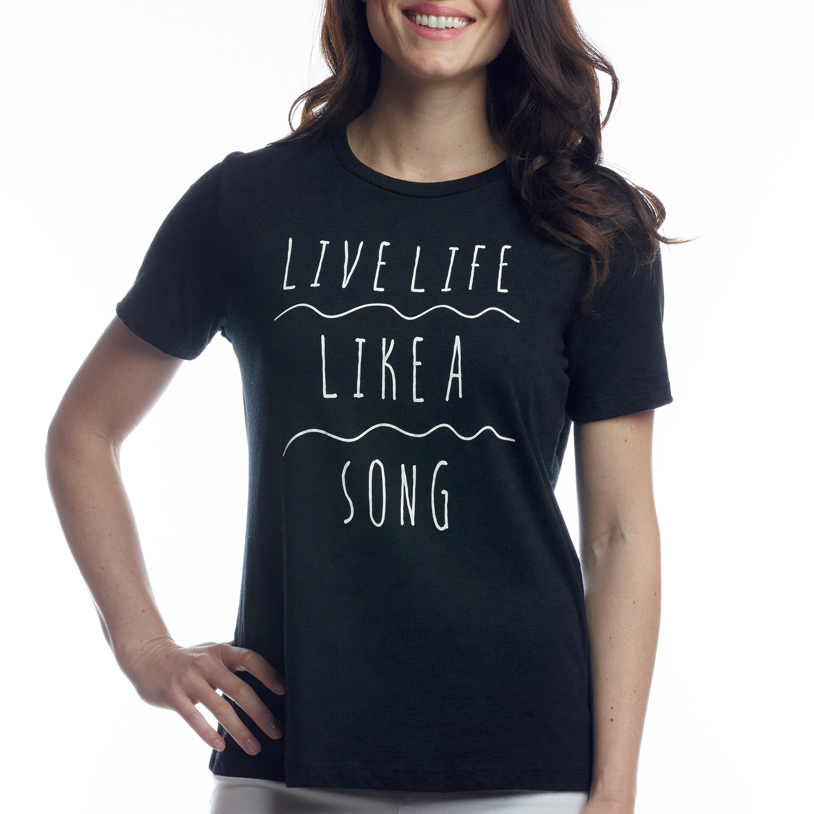 LIKE A SONG STATEMENT T-SHIRT