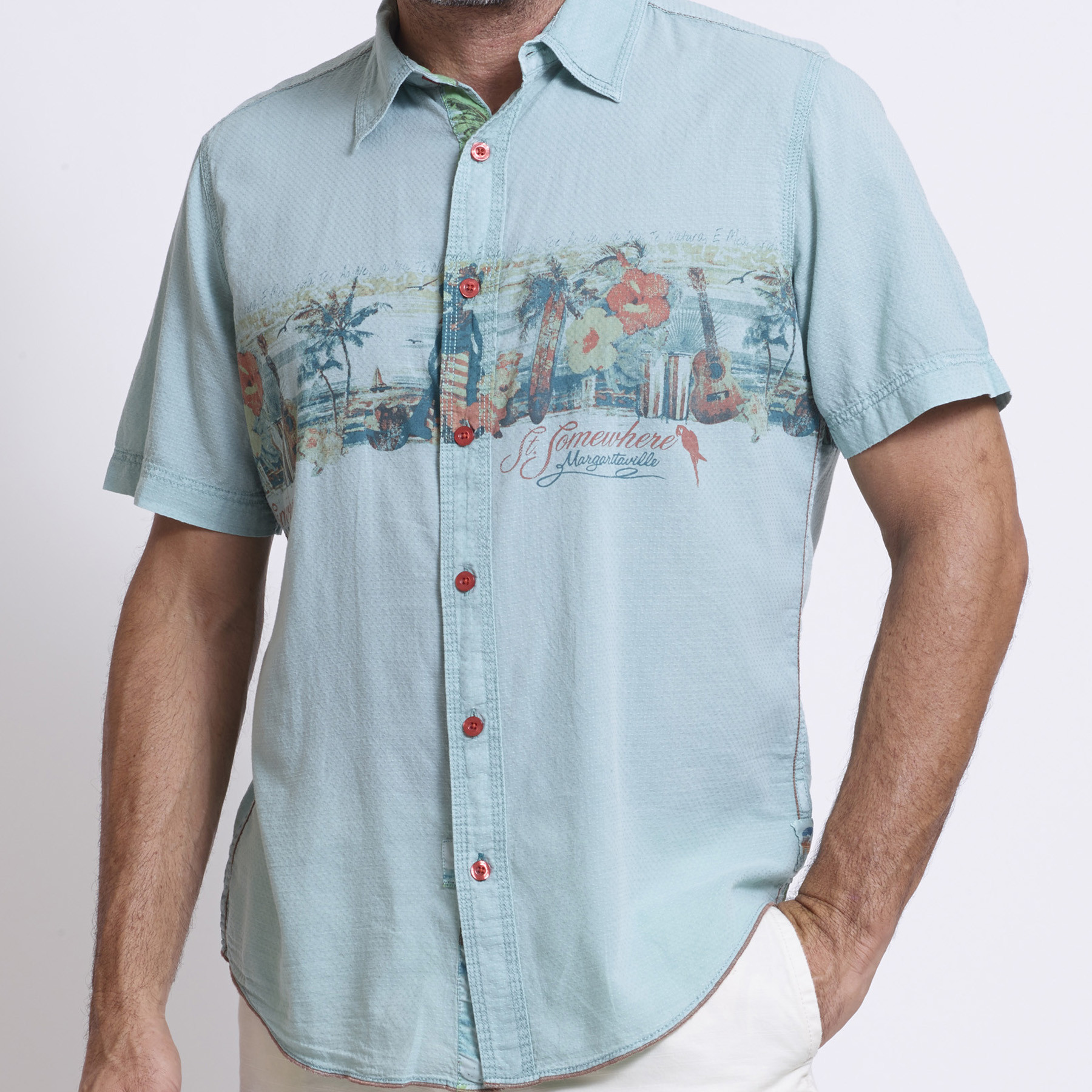 S/S JAMAICAN VACATION SHIRT