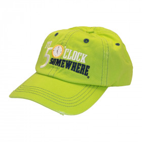 FIVE O'CLOCK LOGO HAT