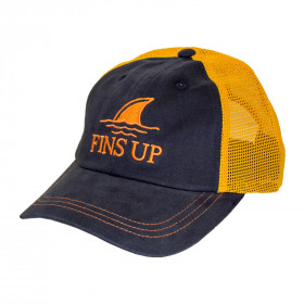 FINS UP TRUCKER HAT