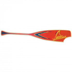 LANDSHARK PADDLE SIGN RED
