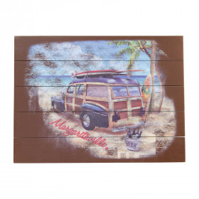 SURF TRUCK WALL ART