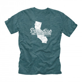 CALI MAP TSHIRT