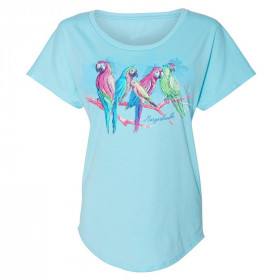 LADIES BIRDS OF A FEATHER TEE