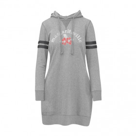 MGV HIBISCUS SWEATSHIRT DRESS