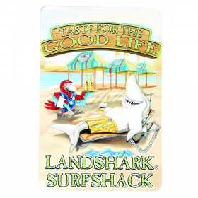 LANDSHARK GOOD LIFE POST CARD