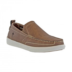 MEN'S CURRENT LEATHER SLIP ON