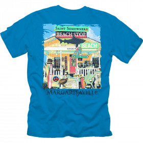 SOMEWHERE BEACH SHOP T-SHIRT
