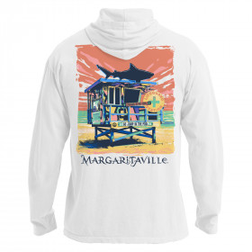 LIFEGUARD STATION HOOD TSHIRT