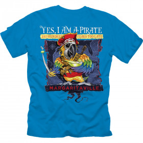 YES I AM A PIRATE T-SHIRT