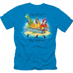 FINS TO THE LEFT T-SHIRT