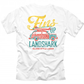LANDSHARK FINS UP WOODY TSHIRT