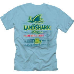LANDSHARK SPRAY LABEL TSHIRT
