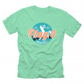PLAY 9 LOGO T-SHIRT