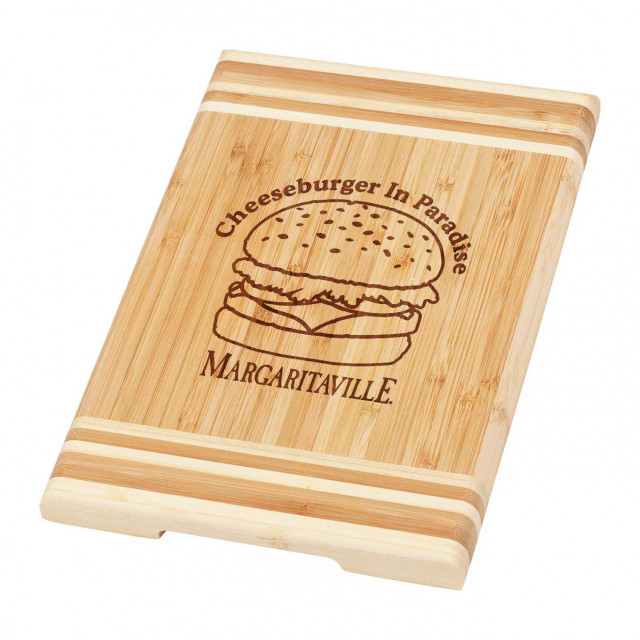 CHEESEBURG 8X12 CUTTING BOARD