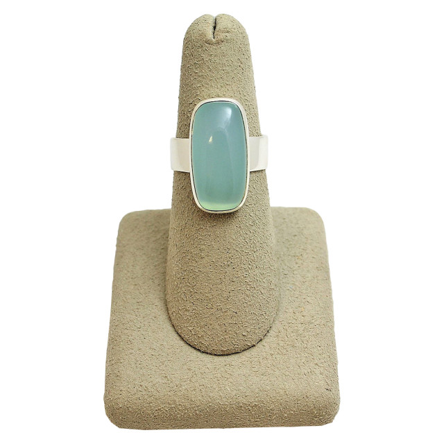 CHALCEDONY WIDE RING