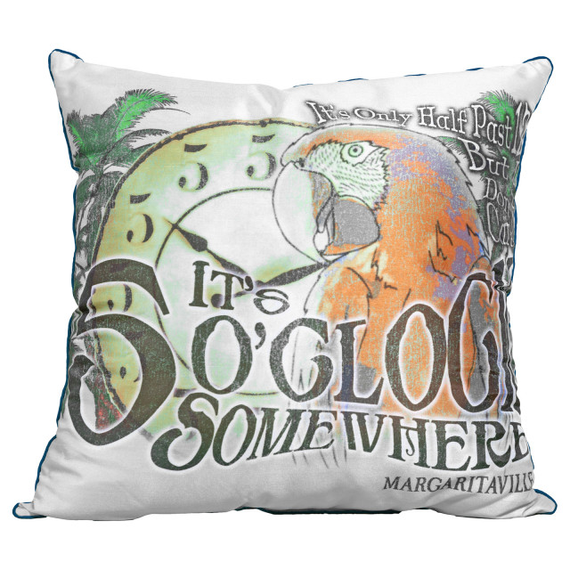 5 O'CLOCK PILLOW