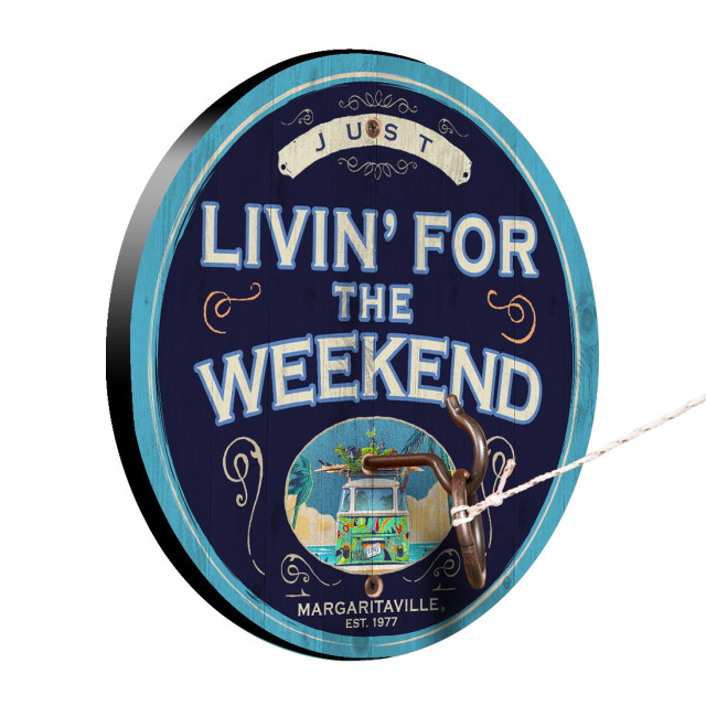 LIVIN FOR WEEKEND HOOK & RING