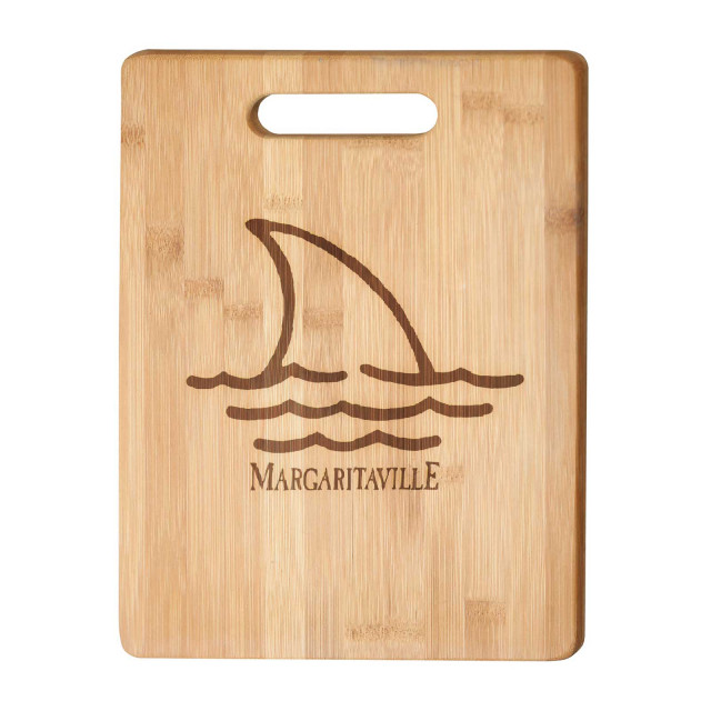 FINS CUTTING BOARD W/ HANDLE