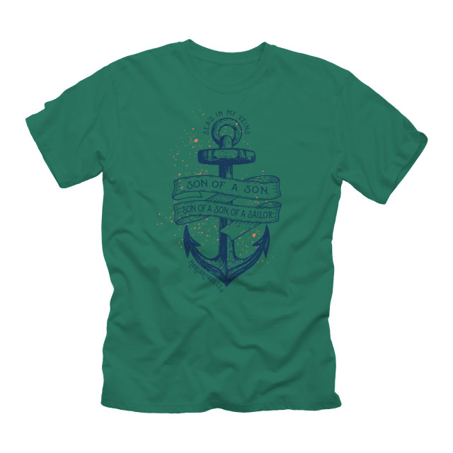 SON OF A SAILOR T-SHIRT