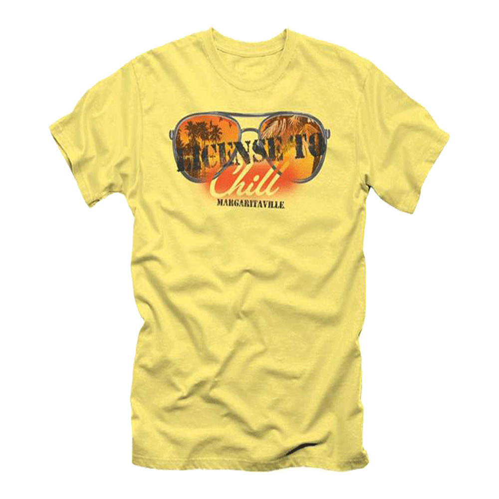 License to chill t shirt margaritaville apparel store for T shirt licensing agreement