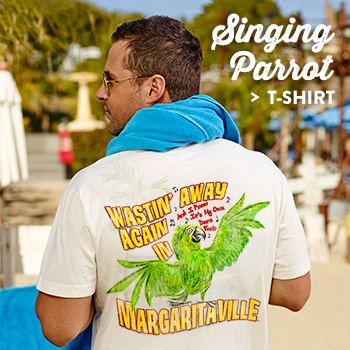 Mens Singing Parrot T-Shirt